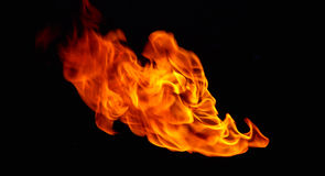 Fire ball. Royalty Free Stock Photos