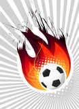 Fire ball vector Stock Photo