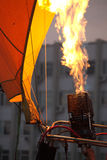 Fire balloon Stock Images