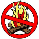 Fire Ban Royalty Free Stock Image