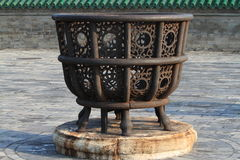 Fire Basket Stock Photography