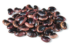 Fire-beans, isolated. On white background Stock Photography