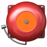 Fire Bell. On white Royalty Free Stock Image