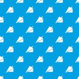 Fire bellows pattern vector seamless blue. Repeat for any use Royalty Free Stock Image
