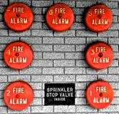 Fire Bells Royalty Free Stock Image