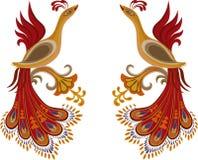 Fire-bird Royalty Free Stock Image