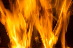 Fire blaze. Fire in fireplace. Fire background. Blazing Bonfire. Firewood burns in a fireplace. Fire blaze Stock Photography