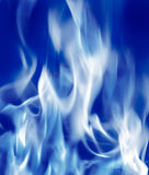 Fire Blue2 Royalty Free Stock Image