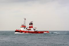 Fire Boat Royalty Free Stock Photos