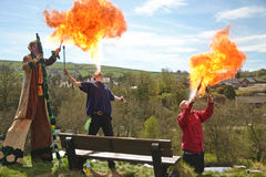 Fire Breathers Royalty Free Stock Photo
