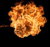 Fire breathing of dragon! Royalty Free Stock Images