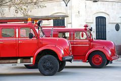 Fire Brigade Royalty Free Stock Image