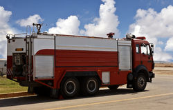 Fire Brigade car Stock Photo