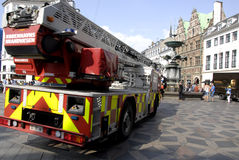 FIRE BRIGADE Royalty Free Stock Photography