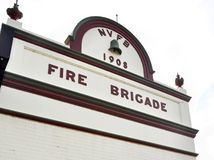 Fire Brigade Nowra Stock Image