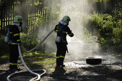 Fire Brigade Royalty Free Stock Images