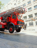 Fire Brigade Vehicle Royalty Free Stock Photo