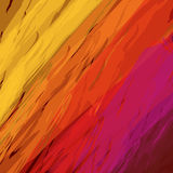 Fire bright abstract background, vector illustration. Abstract background with slanting strokes in flaming red colors, vector Stock Image