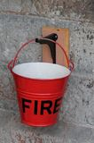 Fire Bucket. Royalty Free Stock Photography