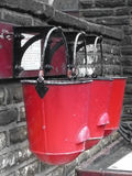 Fire Buckets Stock Photo