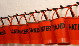 Fire Buckets Stock Photos