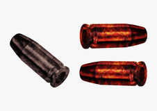 Fire bullet Stock Photos