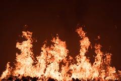 Fire. Burn so hot power Royalty Free Stock Photos