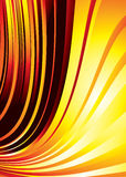 Fire burn rush. Red hot background with flowing flame like bands Stock Images