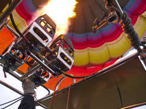 Fire burner of Hot air balloon Royalty Free Stock Photography