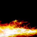 Fire burning Royalty Free Stock Photos