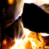 Fire burning Royalty Free Stock Images