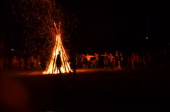 Fire camp Royalty Free Stock Images