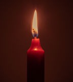 Fire candle Stock Images
