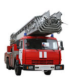 Fire-car. Separately on a white background Stock Photo