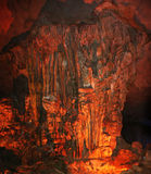 Fire cave Royalty Free Stock Image