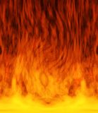 Fire in the center Stock Photo