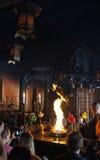 Fire ceremony in Ekoin Temple in Koyasan, Japan Stock Images