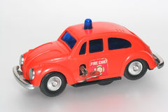 Fire chief toy car VW beetle #2 royalty free stock photography