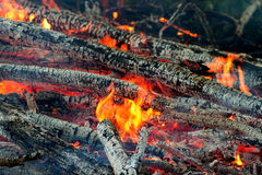 Fire closeups Stock Images