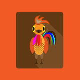Fire cock. Illustration in vektor Stock Images