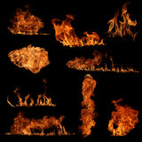 Fire collection Royalty Free Stock Photos