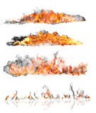 Fire collection Stock Photo