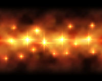 Fire colored background. Abstract fire colored horizontal background Royalty Free Stock Photography