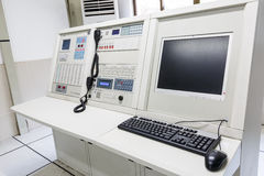 The fire command center equipment Royalty Free Stock Image