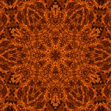 Fire concentric pattern. Background with bright abstract concentric fire pattern Royalty Free Stock Photo