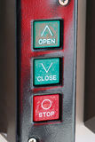 Fire Controls Royalty Free Stock Photos