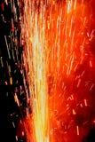 Fire cracker blast Stock Images