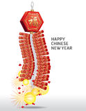 Fire Cracker Chinese New Year. Stock Images