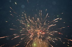 A fire cracker shell Royalty Free Stock Images