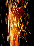 Fire Craker Sparkle Royalty Free Stock Photography